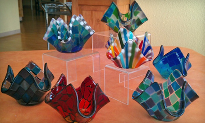 Clay Casa - Northeast San Antonio: Glass-Fusing Classes at Clay Casa. Two Options Available.