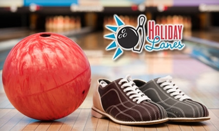 Holiday Lanes - Bossier City: $25 for Two Games of Bowling and Shoe Rental for Up to Six People at Holiday Lanes in Bossier City (Up to $66 Value)