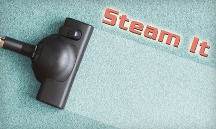 Steam It - Round Rock: $87 for a Carpet and Sofa Cleaning from Steam It (Up to $244 Value)