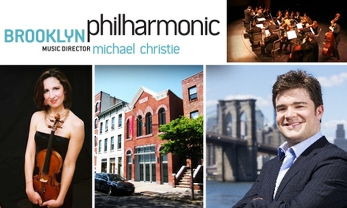 Brooklyn Philharmonic  - New York City: $7 Tickets to a Music Off the Walls Concert by the Brooklyn Philharmonic. Buy Here for 2010, 5/16, at 2 p.m. Other Performances Below.