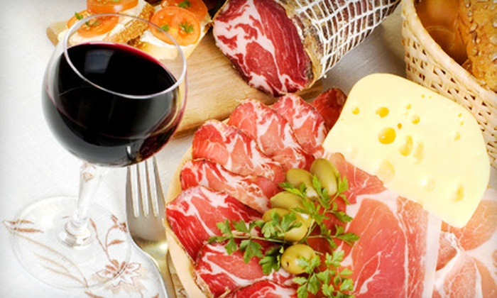 GenuWine Tasting Room - Westwood North: $20 for a Wine-Tasting Event for Four with Two Meat and Cheese Platters at GenuWine Tasting Room in Magnolia ($44 Value)
