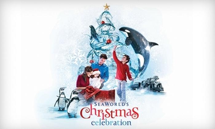 SeaWorld San Antonio - Far West Side: Admission to SeaWorld San Antonio's Christmas Celebration. Choose Between Two Options.
