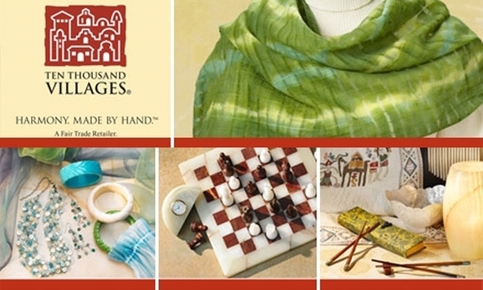 Ten Thousand Villages - Virginia Highland: $10 for $25 Worth of Fair-Trade Goods, Accessories, and Gifts at Ten Thousand Villages