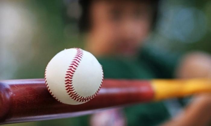 Charlie Rose Baseball - Campbell: $30 for 630-Swing Batting-Cage Punch Card at Charlie Rose Baseball (Up to $60 Value)