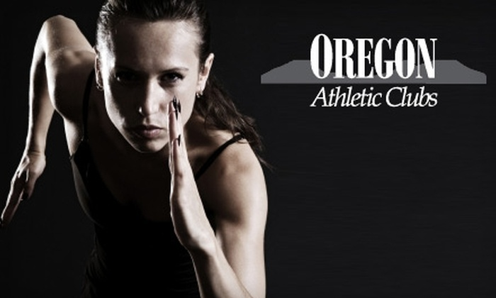 Oregon Athletic Clubs - Multiple Locations: $50 for a Five-Week Membership to Oregon Athletic Clubs (Up to $150.50 Value)