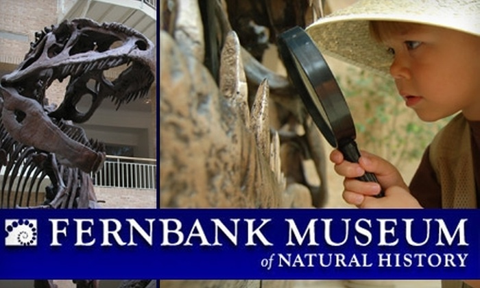 Fernbank Museum - Druid Hills: Half Off One-Year Membership to Fernbank Museum of Natural History. Buy Here for a $30 Individual Membership ($60 Value). See Below for an Family Membership.