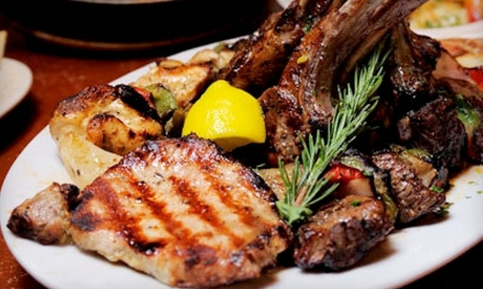 Taverna Opa - Tampa: $20 for $40 Worth of Greek Dinner Cuisine at Taverna Opa (or $7 for $15 Worth of Lunch)