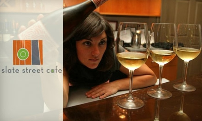Slate Street Cafe - Downtown: $15 for $30 Worth of Eclectic Cuisine and Drinks at Slate Street Cafe