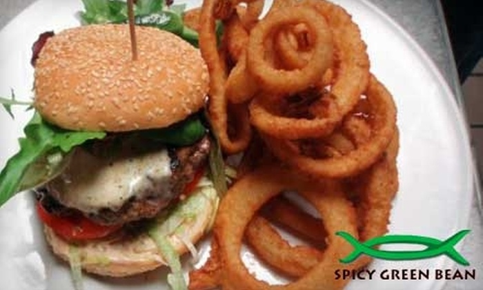 The Spicy Green Bean - Glastonbury: $6 for $12 Worth of Café Fare and Drinks at The Spicy Green Bean