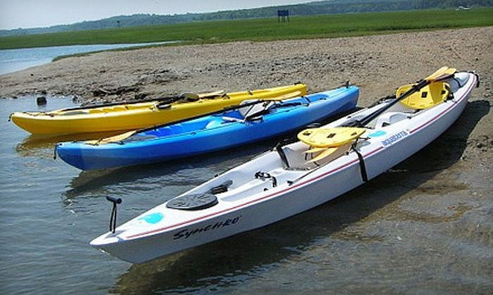 EcoTourz - Sandwich: Two-Hour Guided Kayak Tour of Cape Cod for Two or Four from EcoTourz in Sandwich (Up to 60% Off)