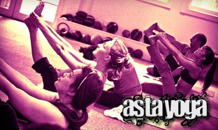 Asta Yoga - Mission Dolores: $45 for Two Months of Unlimited Yoga Classes at Asta Yoga