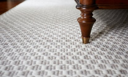 Carpet Cleaning for 3 or 6 Rooms or Upholstery Cleaning from Aim Carpet and Air Duct Cleaning (Up to 61% Off)