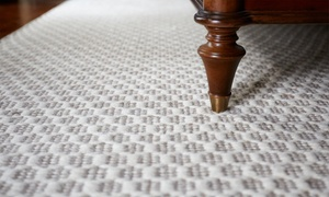 Comprehensive Carpet Cleaning: Carpet and Upholstery Cleaning from Comprehensive Carpet Cleaning (Up to 53% Off). Four Options Available.