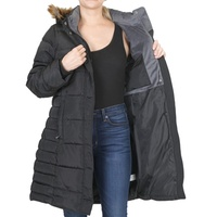Deals on CS by Coffee Shop Womens Quilted Hooded Puffer Jacket