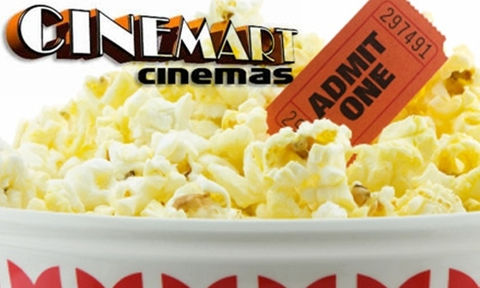 Cinemart Cinemas - Forest Hills: $10 for $20 Worth of Pasta, Sandwiches, and More at Theater Café, or $4 for One Movie Ticket at Cinemart Cinemas in Forest Hills ($9 Value)