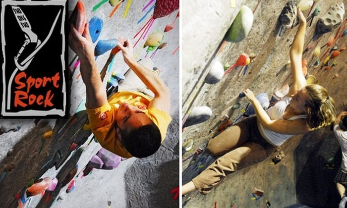 Sportrock Climbing Centers - Washington DC: $20 for $50 Worth of Courses, Climbing, and Rentals at Sportrock Climbing Centers