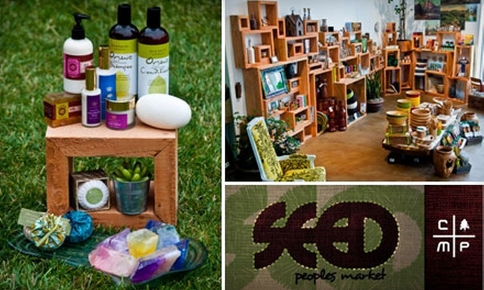 SEED People's Market - Orange County: $20 for $45 Worth of Eco-Friendly Clothes, Home Goods, and Outdoor Gear at Seed People's Market in Costa Mesa