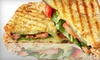 Panini's Restaurant - Downtown: $8 for $16 Worth of Sandwiches, Salads, and Beverages at Panini's Restaurant