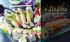 iSushi Café  - Carmel: $20 for $40 of Maki, Drinks, and More at iSushi Café