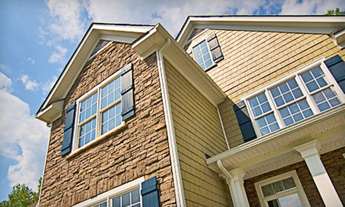 True Shine - Bartlett Station: $49 for $100 Worth of Window Cleaning or Gutter Cleaning from True Shine