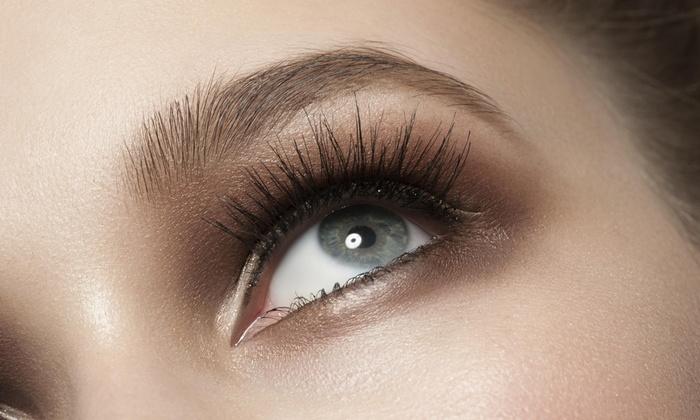 Paradise Lashes - Hollywood: Full Set of Eyelash Extensions at Paradise Lashes (51% Off)