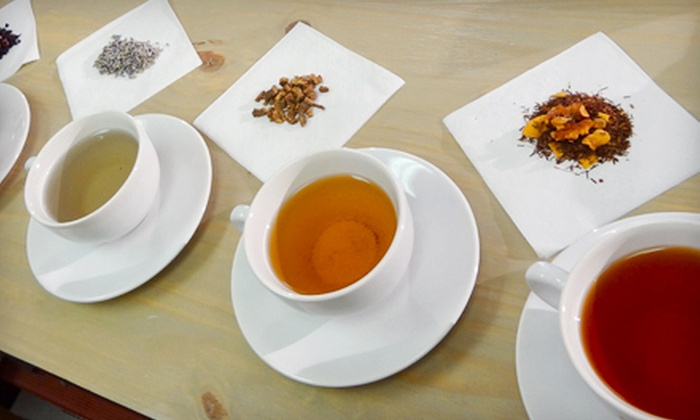 Louisville Tea Company - Lyndon: Tea-Tasting Class for Two or Four or $5 for $10 Worth of Teas and Treats at Louisville Tea Company
