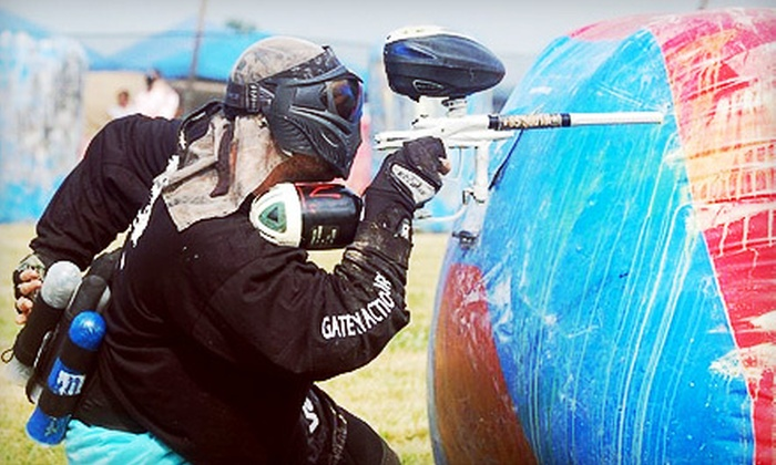 Red Leg Action Sports - Clarksville: $25 for a Paintball Outing with Gear Rental and 500 Rounds at Red Leg Action Sports ($50 Value)