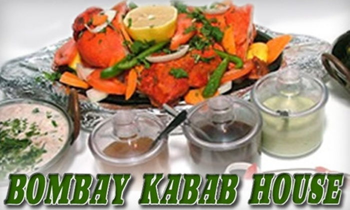 Bombay Kabab House - Evanston: $15 for $30 Worth of Indian Cuisine at Bombay Kabab House in Evanston