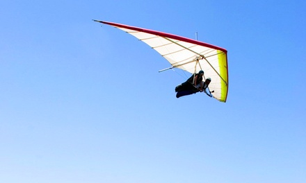 One or Two Groupons, Each Good for a Tandem Hang Gliding Experience from Great Lakes Hang Gliding (52% Off)