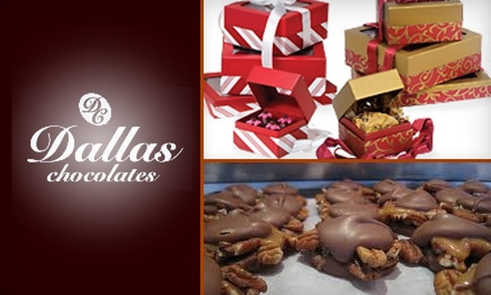 Dallas Chocolates - Oak Lawn: $35 for a Holiday Box of Two-Dozen Turtle Chocolates From Dallas Chocolates ($72 value)