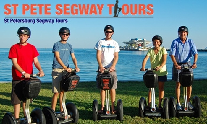 St. Pete Segway Tours - Downtown St. Petersburg: $30 for a Two-Hour Segway Tour of St. Petersburg from St. Pete Segway Tours ($65 Value)
