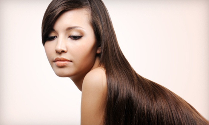 Ziyan Salon & Spa - Lexington-Fayette: Haircut and Style with Keratin Treatment or All-Over Color at Ziyan Salon & Spa (Up to 59% Off)