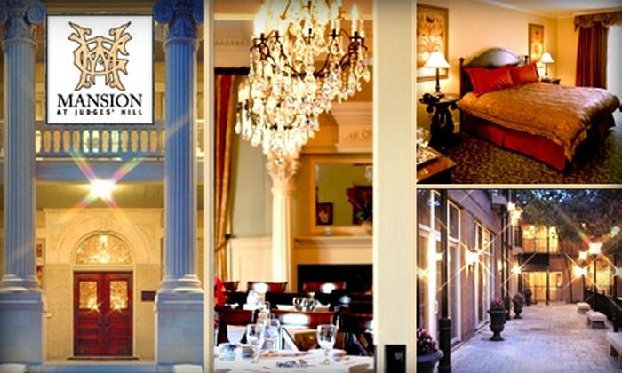Mansion at Judges' Hill - West University: $50 Toward Dining or a Hotel Stay at Mansion at Judges' Hill