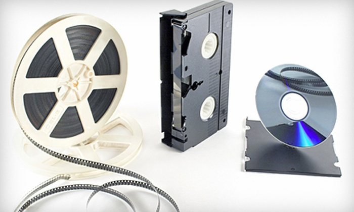 1Stopdigital - Brentwood: Three DVD-to-Video Conversions or $23 for $50 Worth of Conversion Services at 1Stopdigital in Brentwood