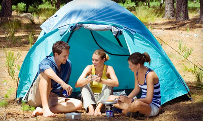 Bissell's Hideaway - Pelham: Two-Night Campsite Rental, or $20 for $100 Worth of Cabin or Campsite Rental at Bissell's Hideaway in Ridgeville