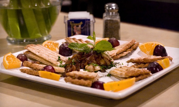 Mediterranean Café - Carlsbad: $15 for $30 Worth of California-Influenced Middle Eastern and Southern European Fare at Mediterranean Café in Carlsbad