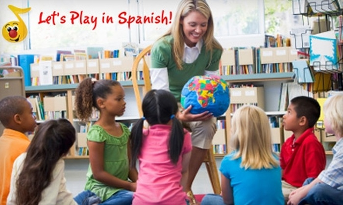 Let's Play in Spanish - Multiple Locations: $40 for Four-Week Mini Session at Let's Play in Spanish ($80 Value)