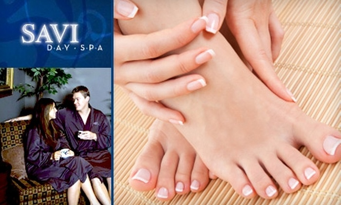 Savi Day Spa - New Tacoma: $65 for a Couple's Pedicure at Savi Day Spa ($130 Value)