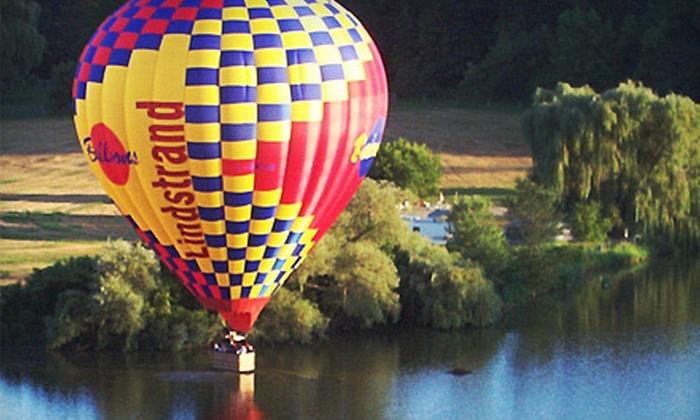 Skyward Balloons - Drumbo: Sunrise, Sunset, or Anytime Hot Air Balloon Trip with Skyward Balloons (40% Off)