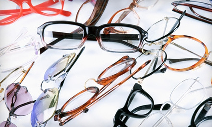 Elite Vision - Holland Park: Eye Exam with Glasses, Contacts and Fitting, or Both at Elite Vision (Up to 78% Off)