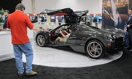 $8 to Visit the DFW Auto Show on March 25–29 (Up to $12 Value)