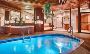 Romance Package at Hotel Outside Milwaukee at Sybaris Pool Suites Mequon, plus 6.0% Cash Back from Ebates.