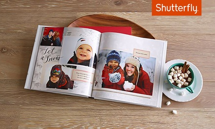 8x8, 8x11, or 10x10 Custom Photo Book from Shutterfly (Up to 67% Off )