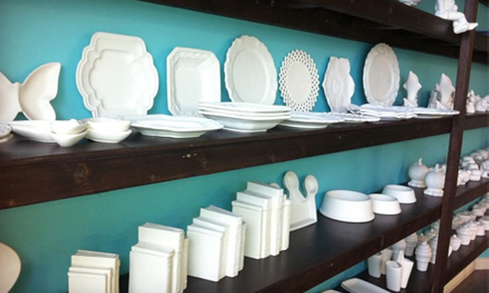 The Clay Cottage - Highway 11: C$12 for C$20 Worth of Paint-Your-Own Pottery at The Clay Cottage