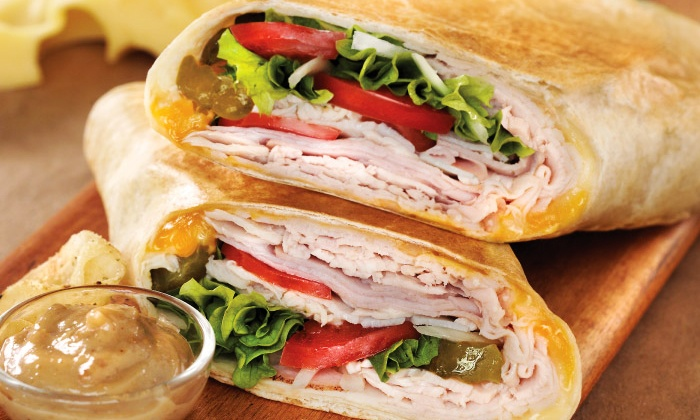 Roly Poly - Greenville: $16 for Four Groupons, Each Good for One Whole Sandwich at Roly Poly ($27 Total Value)