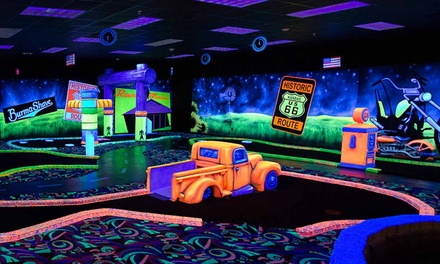 Activity Package with Laser Tag, Glow Mini Golf, and Bumper Cars at Kokomo Joe's Family Fun Center (50% Off)