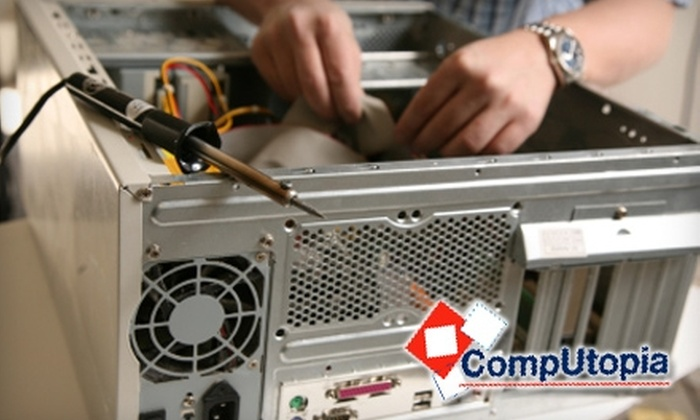 Computopia - Downtown Fishers: $25 for One Hour of Computer Repair from Computopia (Up to $79 Value)