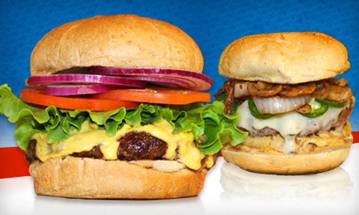 Stop Burgers - Weston: $10 for $20 Worth of Burgers and Grill Specialties at Stop Burgers in Weston