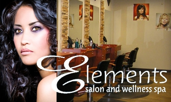 Elements Salon and Wellness Spa - Las Vegas: $25 for $50 Worth of Hair Services at Elements Salon and Wellness Spa