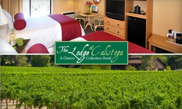The Lodge at Calistoga - Calistoga: $112 for a One-Night Stay at The Lodge at Calistoga Plus Two Winery Passports